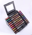 2016 New Arrival Professional 130-Color Trapezoid Shiny Eyeshadow Palette Cosmetics Mineral Makeup Palette eyeshadow for women