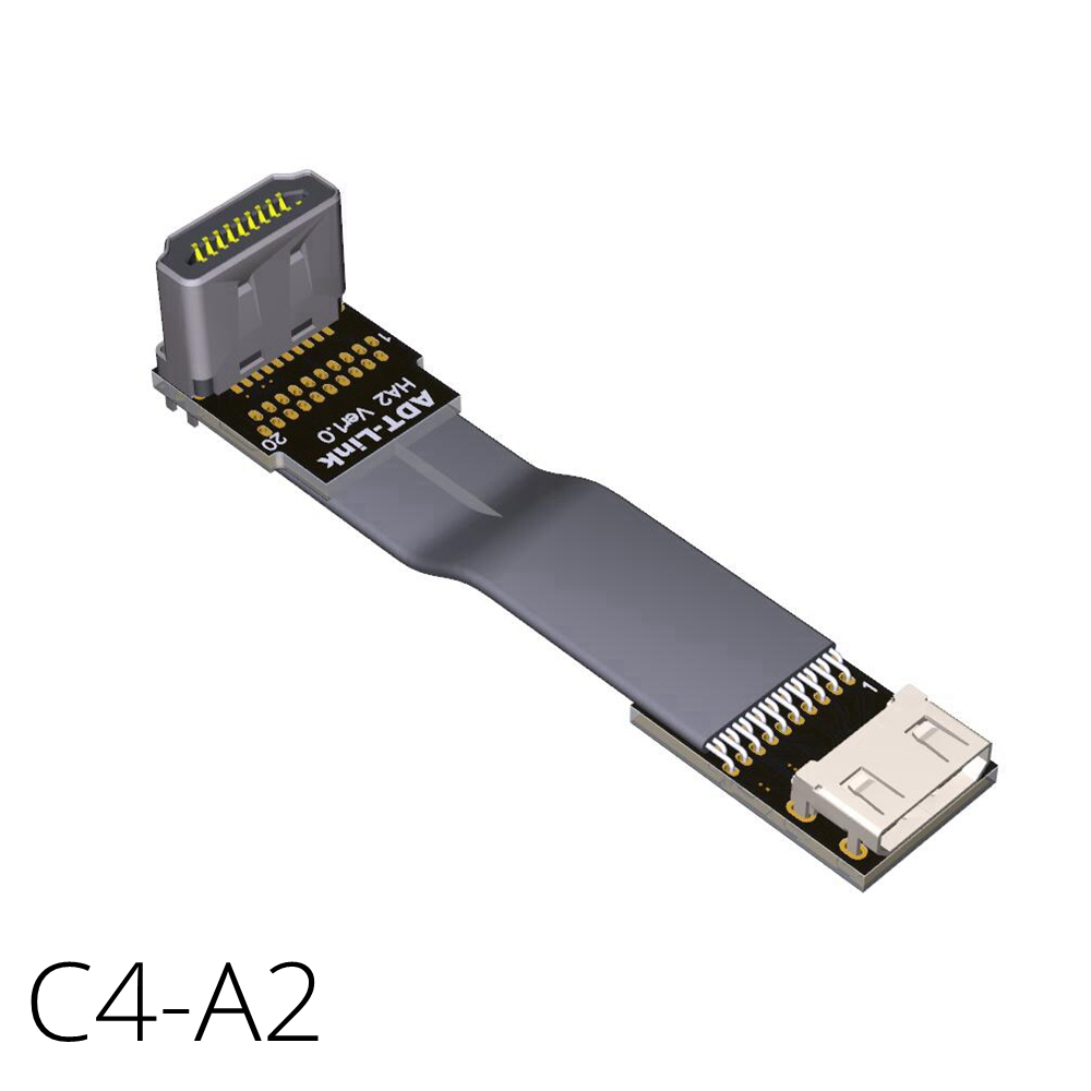 Aliexpress Com Buy Mini Hdmi To Hdmi Cable Angled Flat
