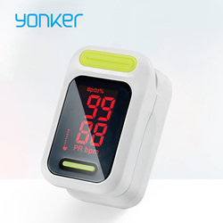 Yonker Medical Pulse Oximeter Portable Finger Pulse Oximeter LED Fingertip Oximeter Blood Oxygen Saturation Monitor