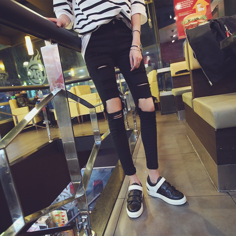 Online Get Cheap Ripped Jeans Outfits -Aliexpress.com | Alibaba Group