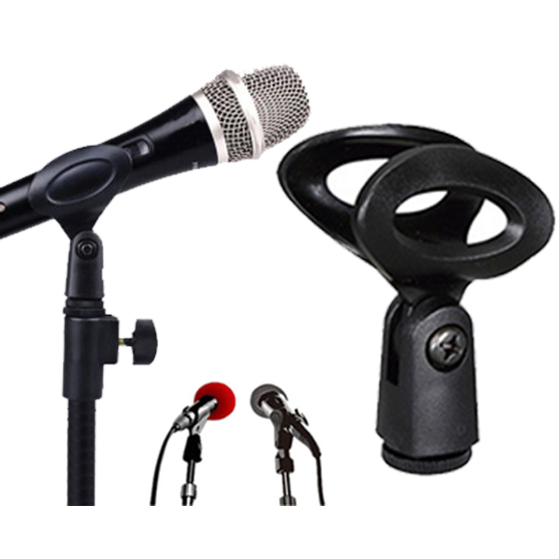 Hot Selling U Clamp Mic Microphone Stand Accessory Flexible Plastic Clamp Clip Holder Mount