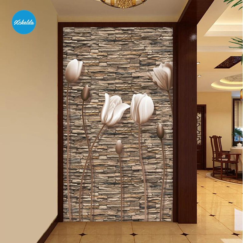 XCHELDA Custom 3D Wallpaper Design Retro Stereo Buds Photo Kitchen Bedroom Living Room Wall Murals Papel De Parede Para Quarto xchelda custom modern luxury photo wall mural 3d wallpaper papel de parede living room tv backdrop wall paper of sakura photo