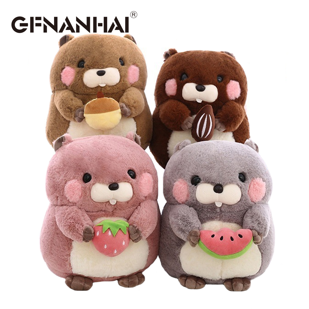 grey Dependable Cute Hamster Stuffed Doll Simulation Plush Toy Cartoon Adorable Toy For Kids Children Toddlers Gift Home Decor 23cm Welding Equipment