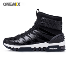 ONEMIX boots for men running shoes mens High top Light Crosser Fitness Outdoor Jogging Sneakers Comfortable Running Shoes 1298