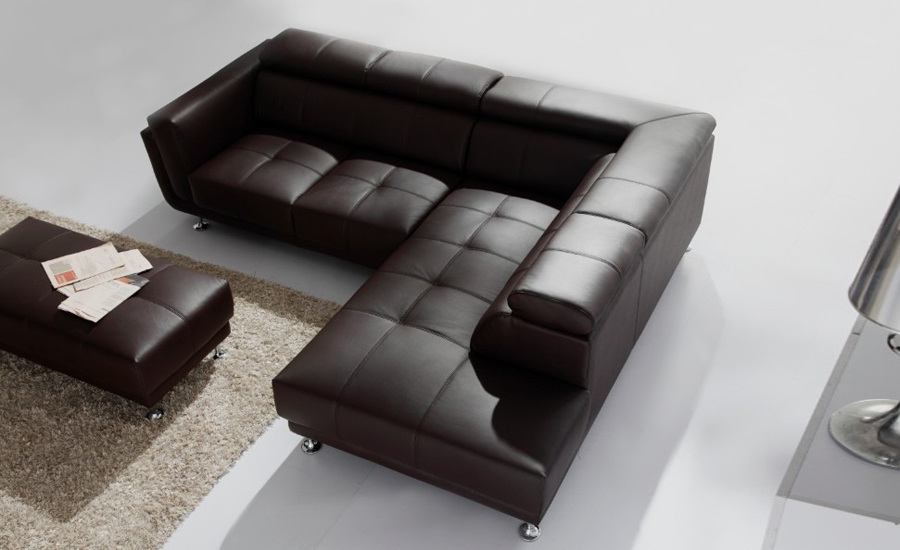 Free Shipping 2017 Latest Italy Design Genuine Leather L Shaped Corner Sofa With Ottoman Removable Seater 9121 1 In Living Room Sofas From Furniture On