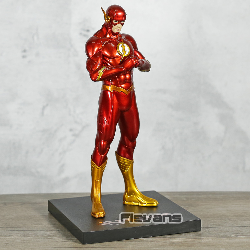DC Comics New 52 The Flash Justice League PVC Figure Toy Collectible Model Figurine image