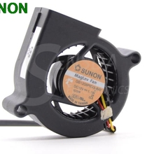 SUNON 5020 GB1205PKV3-8AY 12 в 1,1 Вт dc вентилятор центробежный проектор Вентилятор охлаждения