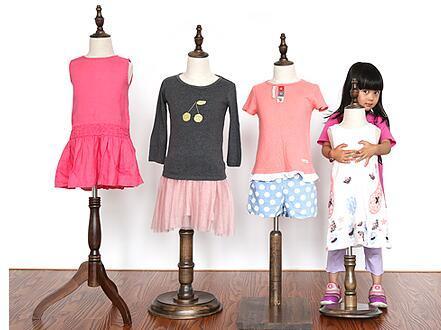Kid mannequins sale,kafa makeni,flexible mannequins tripod stand,display stand,M00377