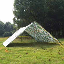 Camouflaged Camping Tent