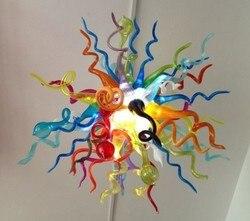 Wielu kolor kryształ ręcznie dmuchanego szkła sufitowe dekoracyjne wiszące LED fantazyjne światło|blown glass ceiling lights|crystal hanging lightsfancy light glass -