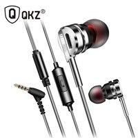Genuine Earphone QKZ DM9 Zinc Alloy HiFi Earphone In Ear Earphones Fone De Ouvido BASS Metal