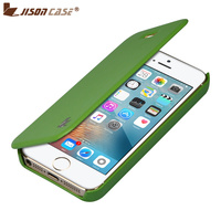 Jisoncase Folio Flip Design Cover With 360 Degree Protective Case 100 Handcrafted Leather Case For IPhone
