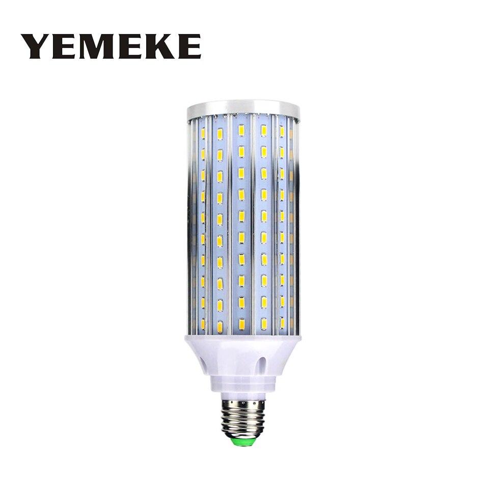 Высокая Яркость E27 светодиодные лампы 12 Вт 20 Вт 25 Вт 35 Вт 40 Вт SMD 5730 без мерцания теплые белый/белый лампада светодиодные лампы E27 50 Вт Ac85-265V