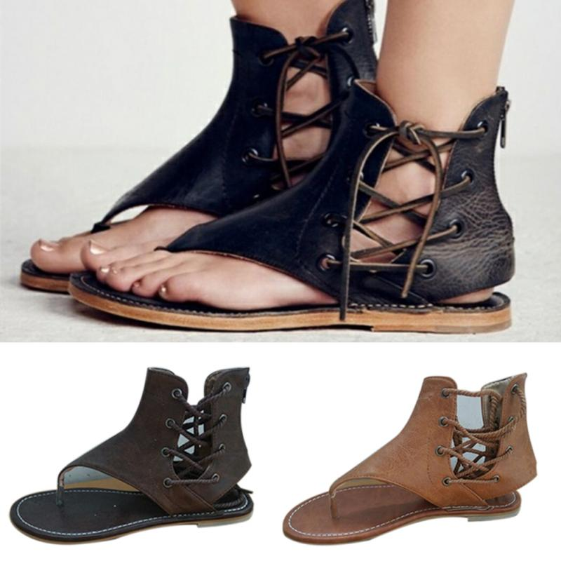 f83e69edfdb New spring summer flat zipper women beach sandals casual female girl  flattie campagus flip flops sandals shoes-in Women s Sandals from Shoes on  ...