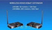 HD 1080 P 3D Беспроводной HDMI видео передатчик и приемник ИК HDBitT Extender до 50 м/164 ноги HDMI кабель преобразователя HDMI50MKV388