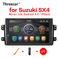 9'' 2din Car Radio Player for Suzuki SX4 2006 2016 Mirrorlink Android Bluetooth Car Multimedia MP5 Player 2DIN Stereo Autoradio