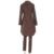 2 Peça Set Mulheres Irregular Café Vento Casaco E Calças Ternos Colarinho Quadrado fino Zipper Clube Partido Feminino Casaco E Calça Lápis