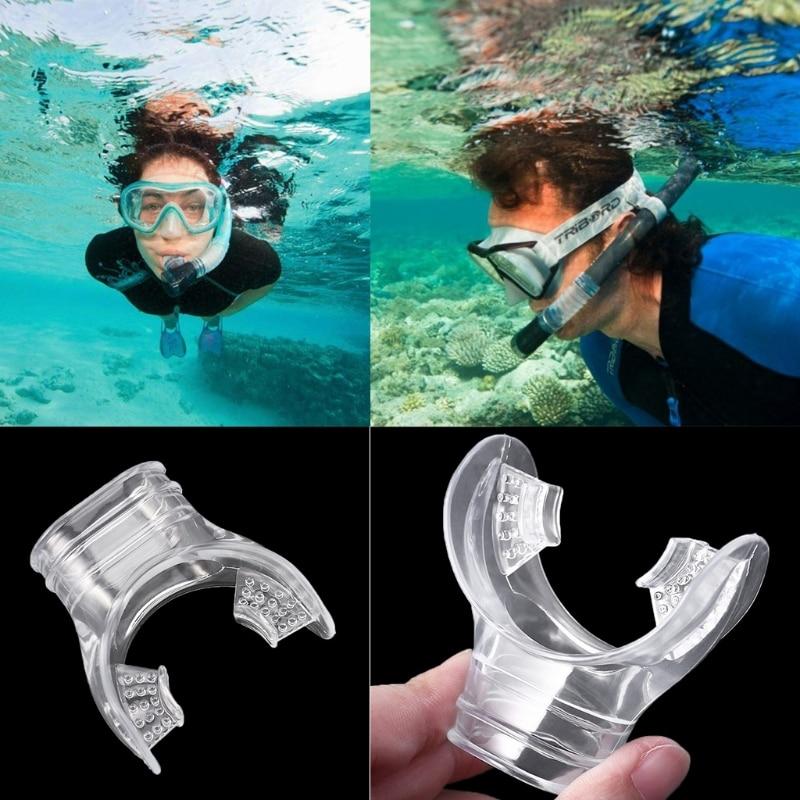 Diving Swimming Scuba Safe Mouthpiece Underwater Breathe Tube Snorkel Regulator