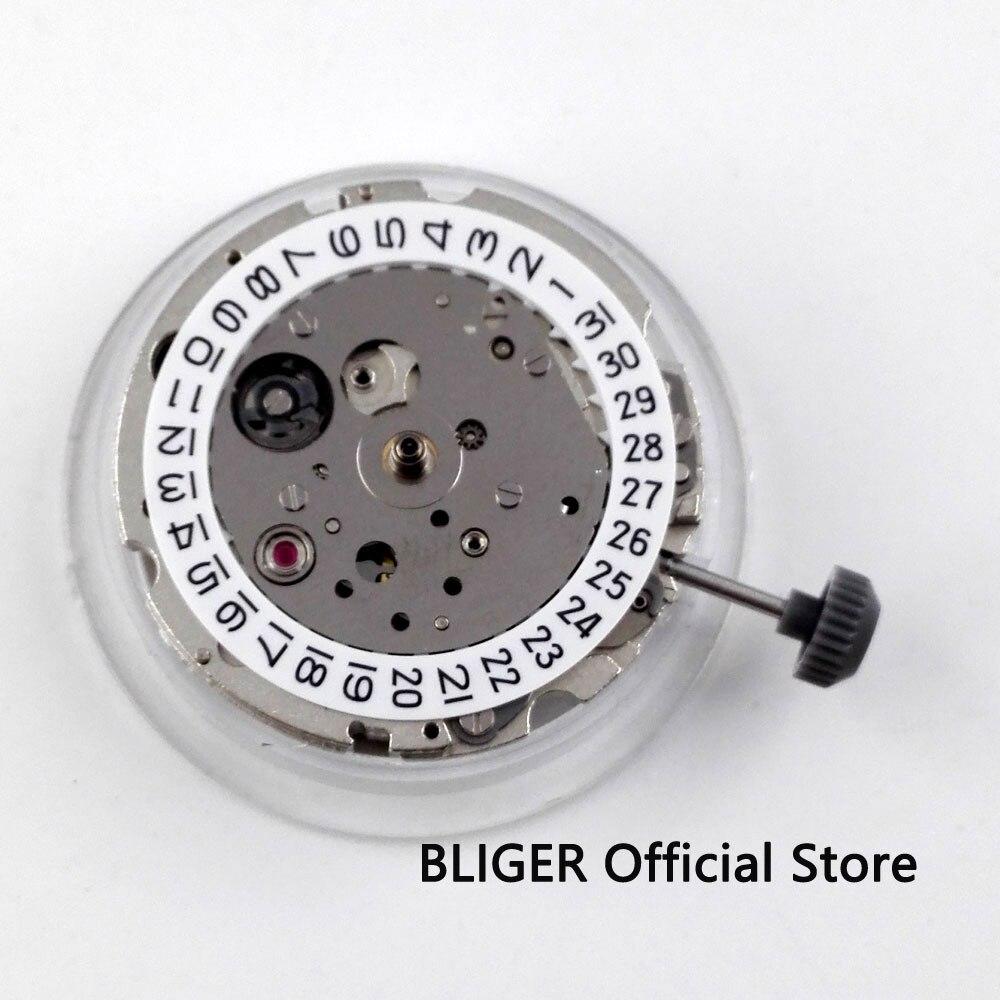 цена 21 jewels Mechanical MIYOTA 8215 Automatic movement date display watch movement BM11 онлайн в 2017 году