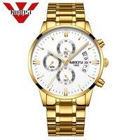 NIBOSI Watch Men Business Waterproof Clock Men Watches Top Brand Luxury Fashion Casual Sport Quartz Wristwatch Relogio Masculino