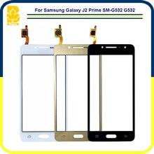 """10 pcs Une Qualité Téléphone Pièces 5.0 """"Panneau Digitizer Façade En Verre lentille Capteur Tactile Écran Pour Samsung Galaxy J2 Premier SM-G532 G532"""