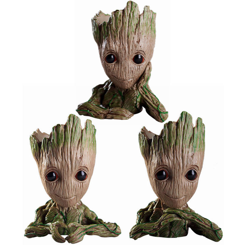 Home & Garden Bright New Toy Of Mini Cute Tree Man Action Figure Collection Model Toys For Miniature Model Flower Pot Garden Home Office Decoration Garden Supplies