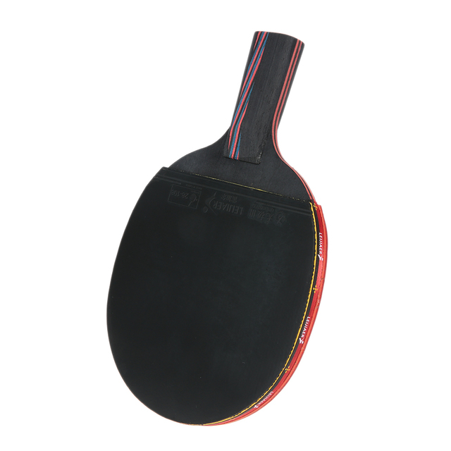 Carbon Table Tennis Rackets Pimples-in Rubber Bat Long Handle / Short Handle Table Tennis Rackets for Fast Attack Type Player