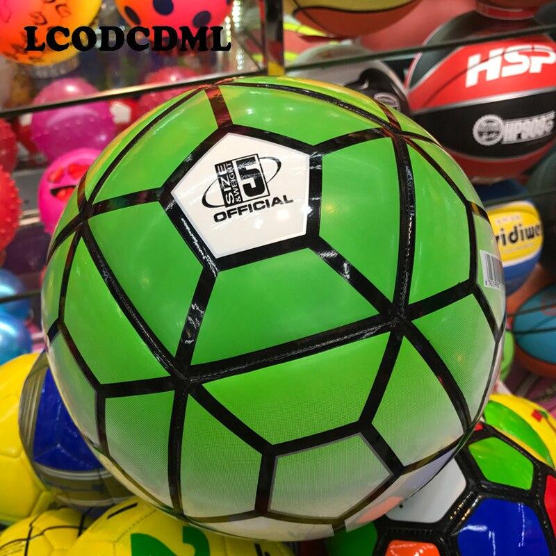 Yüksək keyfiyyətli böyüklər futbolu ölçüsü5 PU futbolunun - Komanda idman növləri - Fotoqrafiya 4