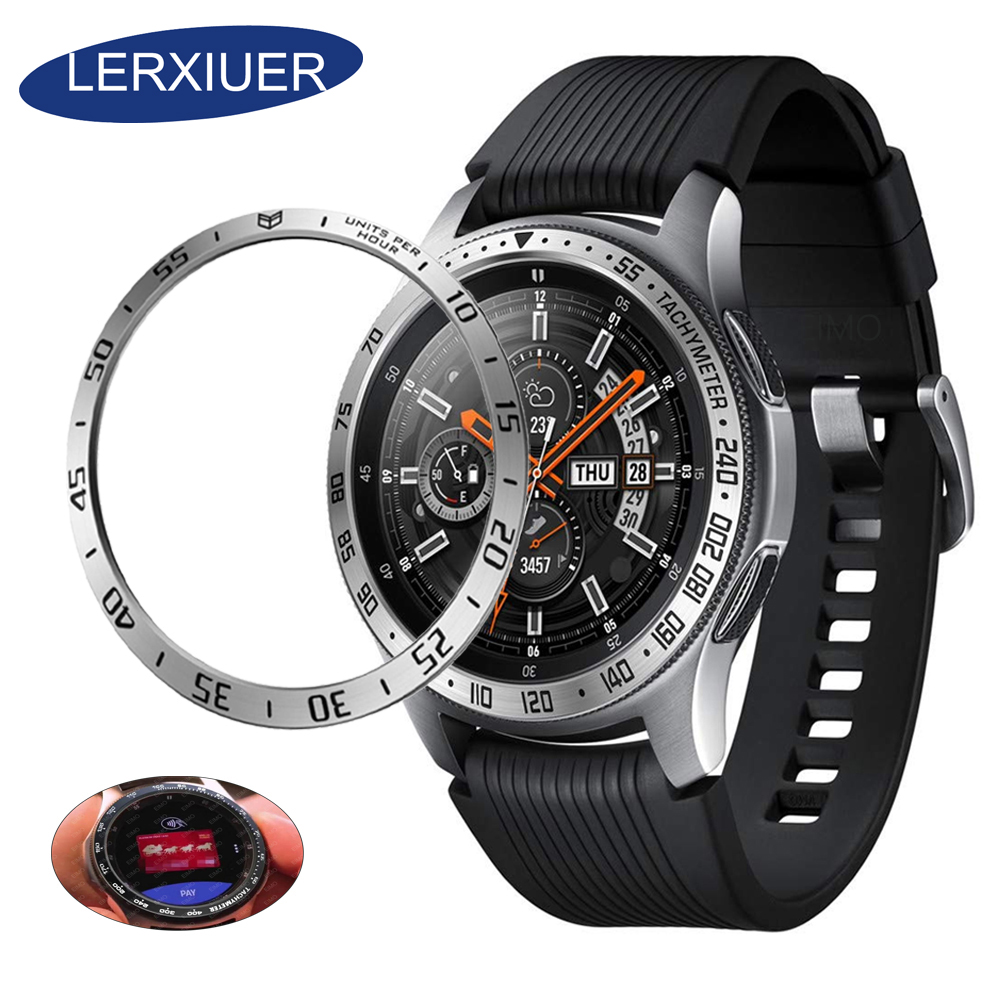 Metal bezel Styling for samsung Gear S3 Frontier/Classic galaxy <font><b>watch</b></font> 46mm/<font><b>42mm</b></font> sport Cover <font><b>watch</b></font> Accessories 20mm 22mm rings image