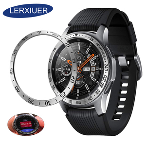 Metal bezel Styling for samsung Gear S3 Frontier/Classic galaxy watch 46mm/42mm sport Cover watch Accessories 20mm 22mm rings(China)