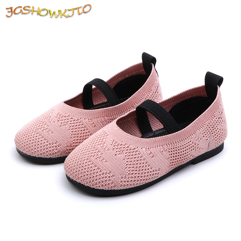 Baby Girl Casual Shoes Children's Flat Sneakers Breathable Soft Fashion Kids Flats For Girls Spring Autumn New Design Size 21-30