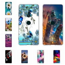лучшая цена For Sony Xperia XZ3 Case Ultra-thin Soft TPU Silicone For Sony Xperia XZ3 XZ 3 Cover Cute Animal Patterned For Sony XZ3 Coque
