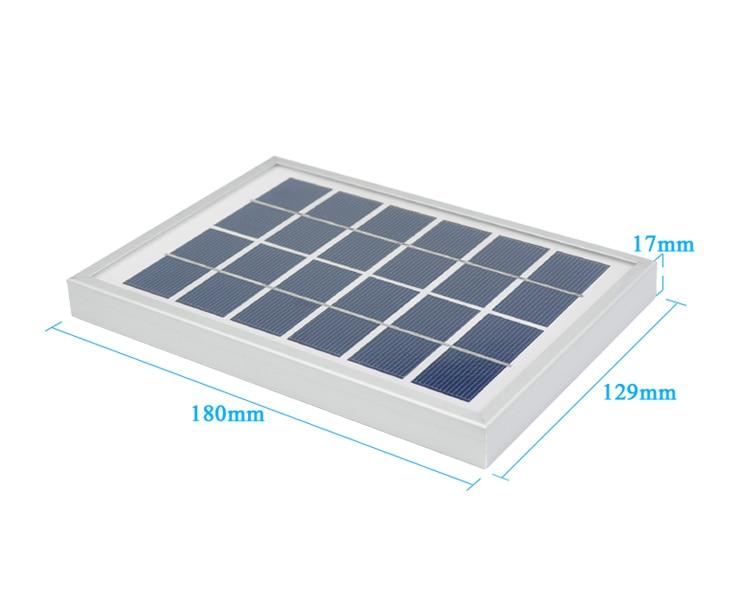 Sunyima painéis solares 6 v 2 w
