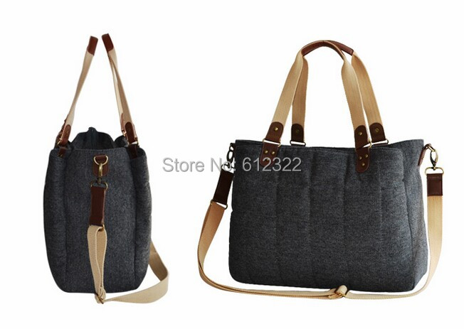 ФОТО Tote Baby Diaper Bag For stroller British Style women messenger Bags woolen baby nursing changing bag sac a langer bebe couche