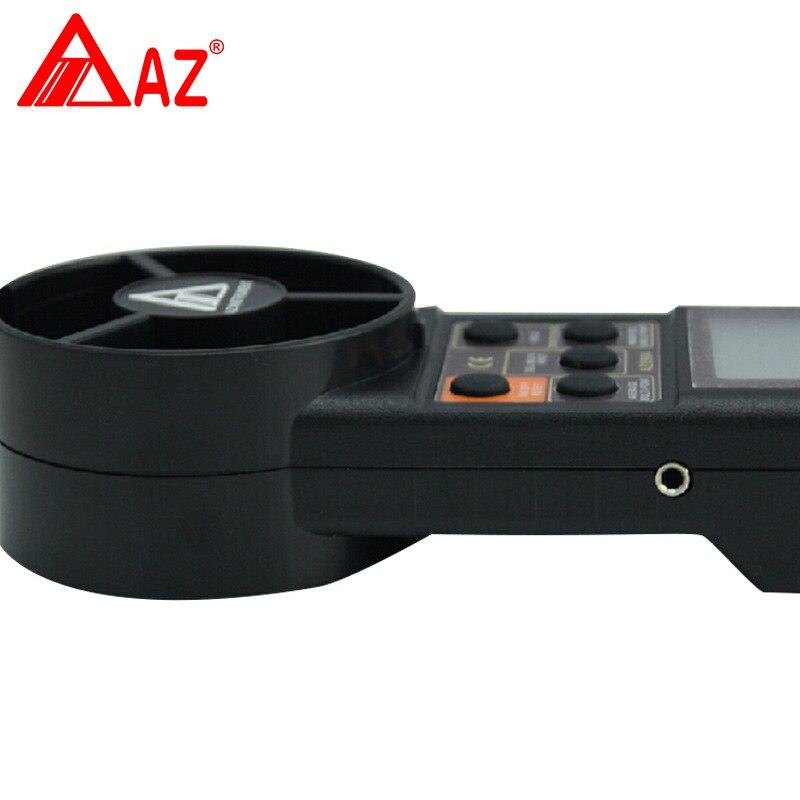 AZ8904 anémomètre numérique portatif compteur de vitesse du vent testeur de vitesse du vent instruments de mesure électroniques - 2