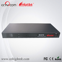 HighTek HK 8116A Industrial 16 Ports RS232 To Ethernet Converter Ethernet To Serial Device Server