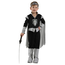 Kids Child Medieval Crusader Warrior Knight Costume for boys Halloween Carnival Party Mardi Gras Theme Fancy Dress
