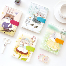 Pipi Rat Commune Leather Bullet Journal Cartoon Color Illustration Notebook Cute Diary Book Notepad