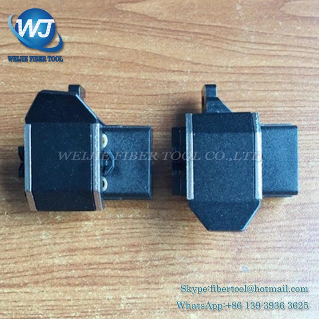 Suporte da placa de grampo de fibra Fujikura FSM-50S Splicer Da Fusão 50 S cobrir groove 50 s fibra de grampo de Fibra 1 Par