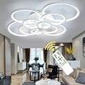 Готовые люстры  светодиодные круглые современные потолочные люстры  люстры для гостиной  акриловые люстры  диммер