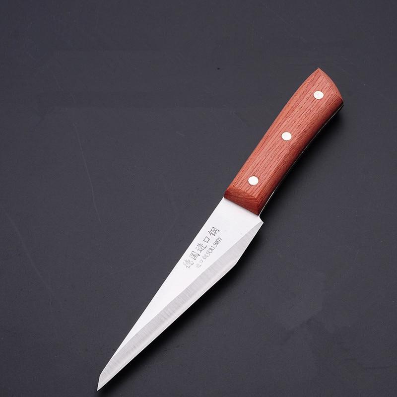 الشحن مجانا جودة عالية قطع العاج ألمانيا المستوردة الصلب جزار سكين ذبح اللحوم الساطور قتل خنزير الأغنام المحدد