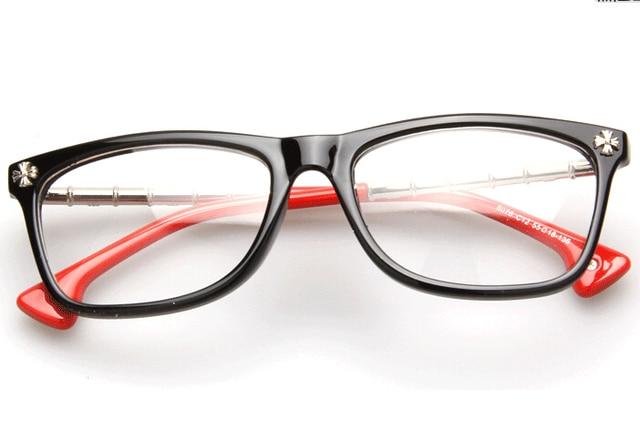 Myopia Glasses Frame Women/Men Vintage Copper Eyeglasses Frame ...