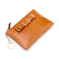 2016 New Arrival High Quality Genuine Leather Wallet Female Cowhide Money Bag Women Purse Short Wallet