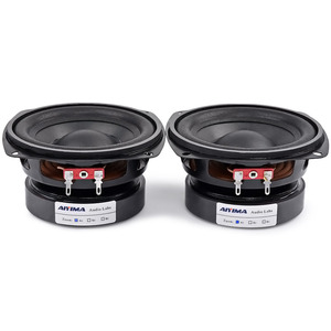 Image 5 - AIYIMA 2Pcs 4 inch 50W Subwoofer Audio Speaker Portable Mini Stereo 4 Ohm 8Ohm Speakers Woofer Full Range Car Horn Loudspeaker
