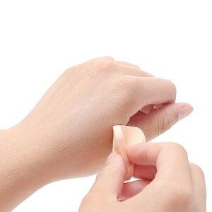 Image 3 - Bouffée molle de poudre déponges faciales cosmétiques durables de fond de teint de bouffée de poudre déponge de maquillage dutilisation humide et sèche de 20 pièces pour le Blush de crème de BB