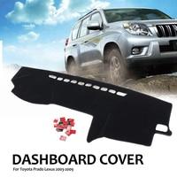 Anti Dirty Car Dashmat Dashboard Cover Sun Shade Dash Board Carpet Mat Protect For Toyota Prado