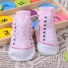Socks Winter No Girls 1-Pair Non-Slip Newborn FK88 Infant Autumn Soft 0-12-Months Cotton