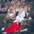 2017 promoción de primavera venta caliente de poliéster mujeres disfraces hmong ropa vestidos chino antiguo hanfu antiguo traje chino para