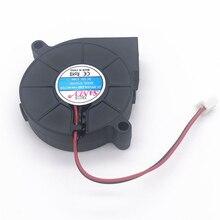 цены Free Shipping SANLY SF5015SL SF5015SM 12V 0.06A server cooling fan Humidifier fan 5cm 5015 50x50x15mm blower 3pcs 2PIN