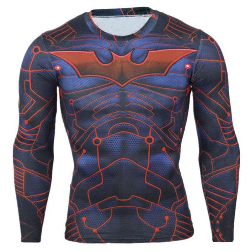 Prix pour CKAHSBI Vélo À Manches Longues VTT Shirts Clothing Collants Hommes Ropa Ciclismo Vélo De Course Jersey Superman NOUS Capitaine Vélo Maillots